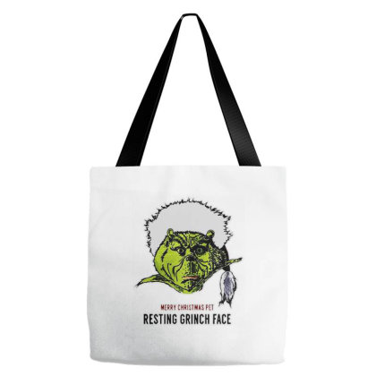 Resting Grinch Merry Christmas Tote Bags Designed By Romeo And Juliet