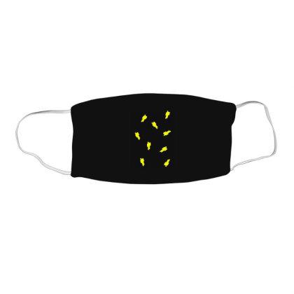 Billie Eilish Logo For Billie Eilish Fans Art T Shirt Face Mask Rectangle Designed By Jetspeed001