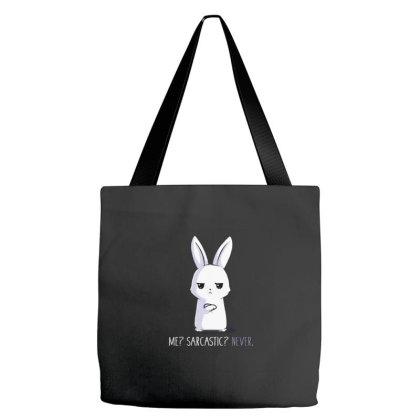 Me Sarcastic Never Tote Bags Designed By Gandiwidodo