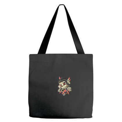 Freaky Biker Tote Bags Designed By Gandiwidodo