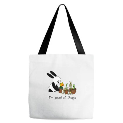 I'm Good At Things Plants Tote Bags Designed By Jane Sudiati