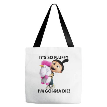 It's So Fluffy I'm Gonna Die Tote Bags Designed By Smile 4ever