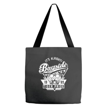 It's Allright Bayside High Tote Bags Designed By Smile 4ever