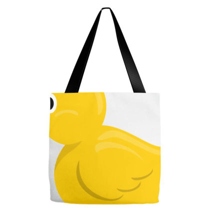 Duck The Luck Tote Bags Designed By Agunggw
