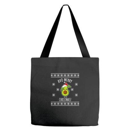 Avo Merry Christmas Ii Tote Bags Designed By Blackstone