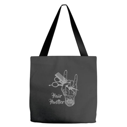 Hair Hustler Beauty Salon Tote Bags Designed By Yusrizal_
