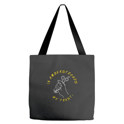 In Amberstrands We Trust  T Shirt Tote Bags Designed By Jetspeed001