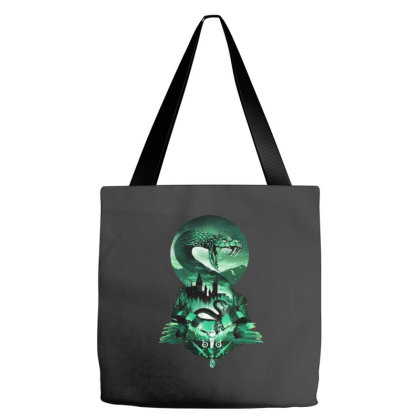 House Of Slytherin Tote Bags Designed By Smile 4ever