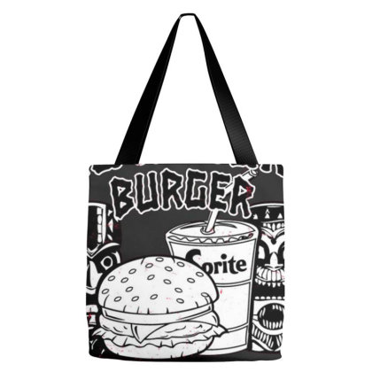 Big Kahuna Burger Tote Bags Designed By Reswasa