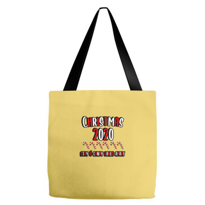 Christmas 2020 6 Candy Canes Away Tote Bags Designed By Blackstone