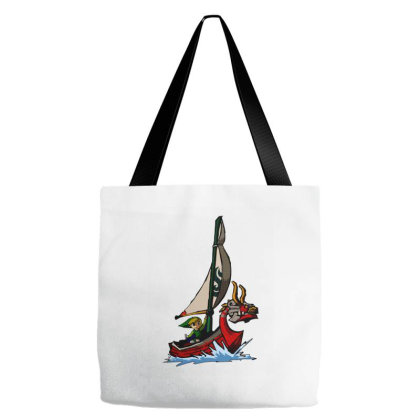 Lion Boat Classic T Shirt Tote Bags Designed By Jetspeed001