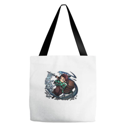 Tanjiro First Form Tote Bags Designed By Agunggw