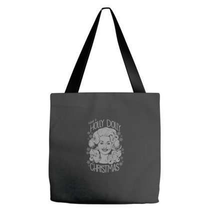 Have A Holly Dolly Christmas Essential Tote Bags Designed By Yusrizal_