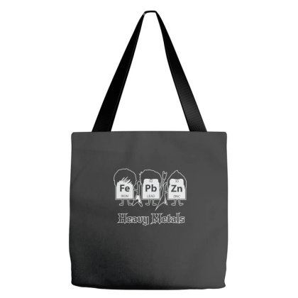 Heavy Metals (periodic Table) Tote Bags Designed By Yusrizal_