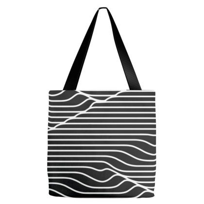 Optical Flow Tee Tote Bags Designed By Felicity