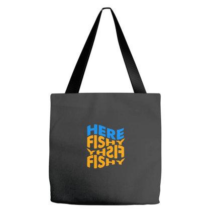 Here Fishy Fishy Fishy Tote Bags Designed By Yusrizal_