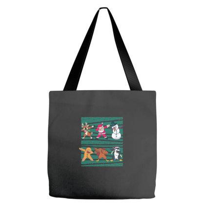 Christmas Dab Tote Bags Designed By Blackstone
