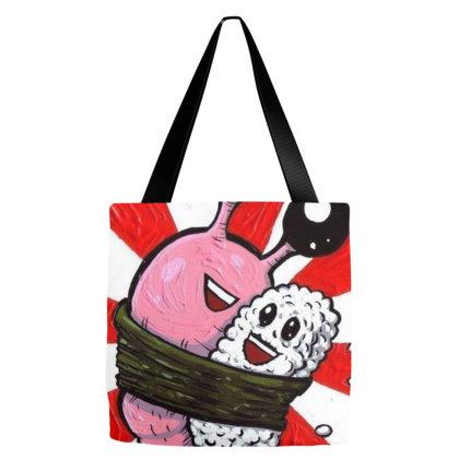 Sushi Kawai Tote Bags Designed By Reswasa