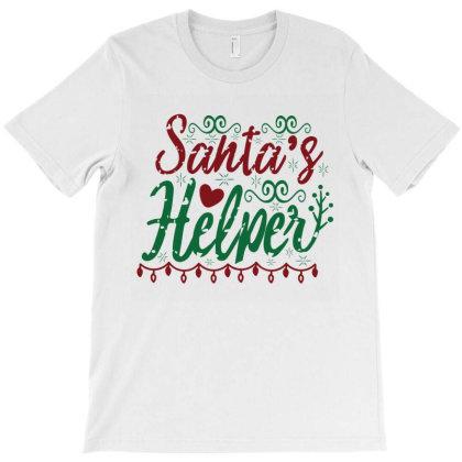 Santas Helper T-shirt Designed By Chiks
