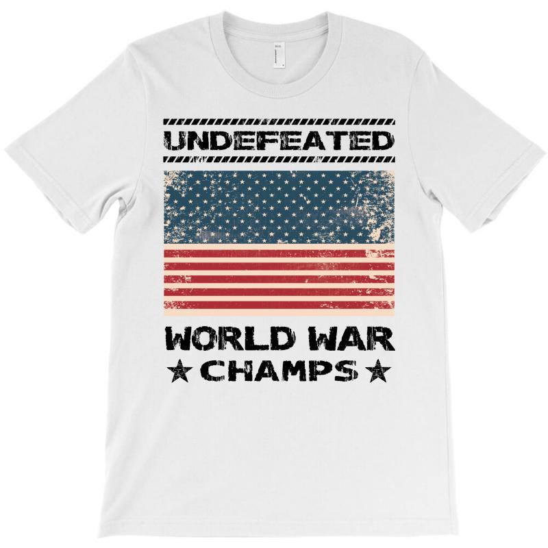 Undefeated World War Champs T-shirt | Artistshot