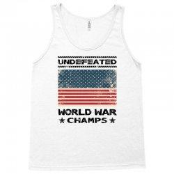 Undefeated World War Champs Tank Top | Artistshot