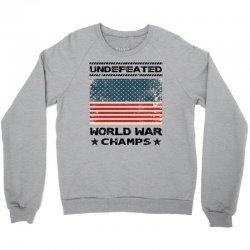 Undefeated World War Champs Crewneck Sweatshirt | Artistshot