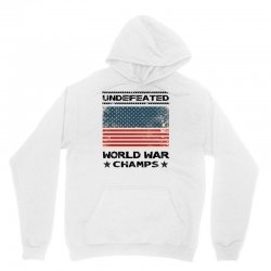 Undefeated World War Champs Unisex Hoodie | Artistshot