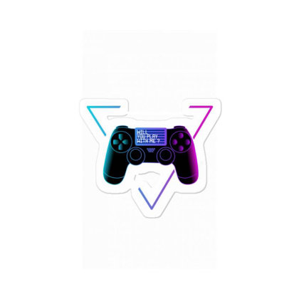 Willyouplaywithme Sticker Designed By Wahidin77