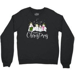 funny snowman christmas family Crewneck Sweatshirt | Artistshot