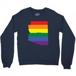arizona rainbow flag Crewneck Sweatshirt | Artistshot