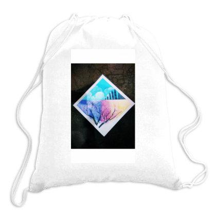Colourful Waterfall Drawstring Bags Designed By Guptaji1432