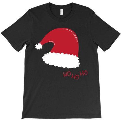 Santa Hat T-shirt Designed By Chiks