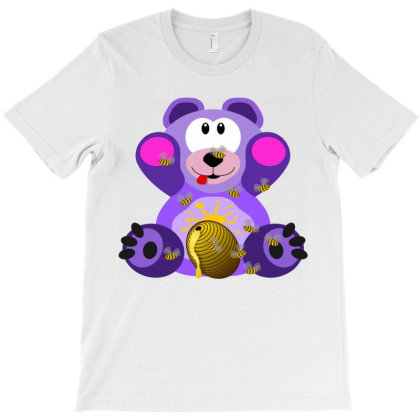 Teddy Bear T-shirt Designed By Chiks