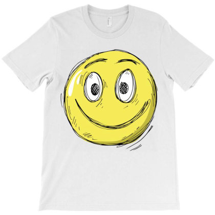 Smile T-shirt Designed By Chiks