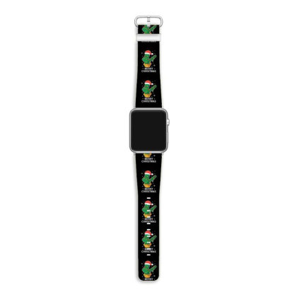 Merry Christmas Cactus Plant Lover Xmas Holiday Apple Watch Band Designed By Blackstone