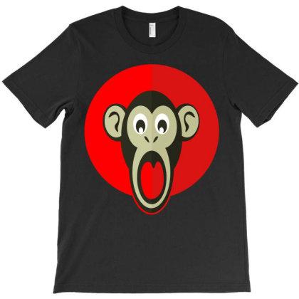 Shocking Monkey T-shirt Designed By Chiks