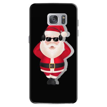 Santa Claus Headphones Sunglasses Samsung Galaxy S7 Case Designed By Chiks