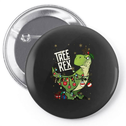 Dinosaurs Tree Rex Christmas Shirt Pin-back Button Designed By Hoainv
