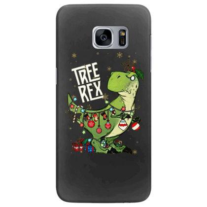 Dinosaurs Tree Rex Christmas Shirt Samsung Galaxy S7 Edge Case Designed By Hoainv