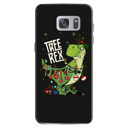Dinosaurs Tree Rex Christmas Shirt Samsung Galaxy S7 Case Designed By Hoainv