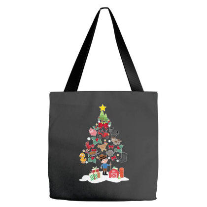 Farmer Christmas Tote Bags Designed By Hoainv