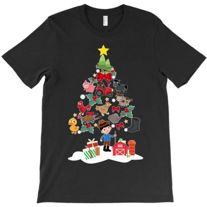 Farmer Christmas T-shirt Designed By Hoainv