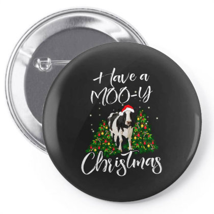Have A Mooy Christmas Pin-back Button Designed By Hoainv