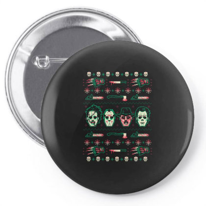 Horror Xmas Pin-back Button Designed By Hoainv