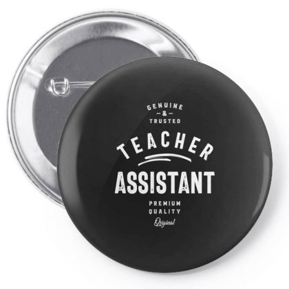 Teacher Assistant Job Title Gift Pin-back Button Designed By Cidolopez