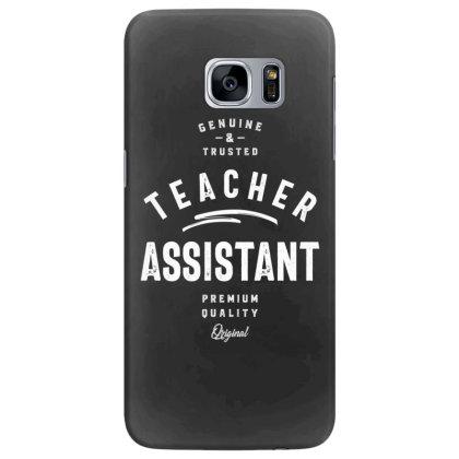 Teacher Assistant Job Title Gift Samsung Galaxy S7 Edge Case Designed By Cidolopez