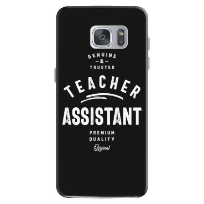 Teacher Assistant Job Title Gift Samsung Galaxy S7 Case Designed By Cidolopez