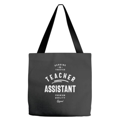 Teacher Assistant Job Title Gift Tote Bags Designed By Cidolopez