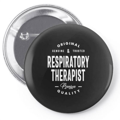 Respiratory Therapist Job Title Gift Pin-back Button Designed By Cidolopez
