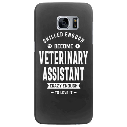 Veterinary Assistant Job Title Gift Samsung Galaxy S7 Edge Case Designed By Cidolopez
